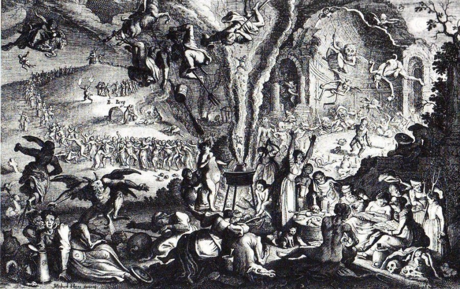 sabbat 1024x644 900x566 サバトと黒ミサ、悪魔崇拝のおぞましい儀式。
