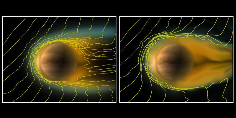 zoom 金星で起きている異変!輝きを増す大気の光。