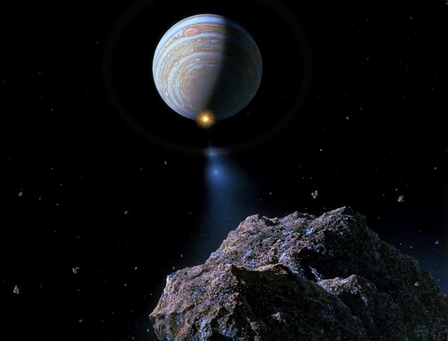 Comet Shoemaker Levy 9 approaching Jupiter 900x684 シュメーカー・レヴィ第9彗星(SL9)、木星に刻まれた破壊の跡。