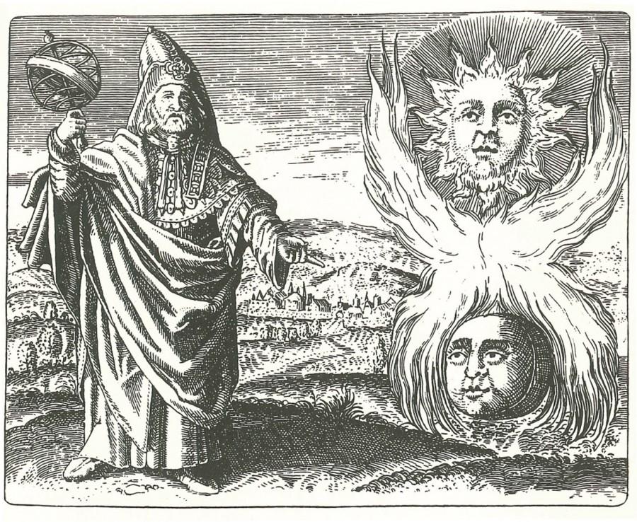 Hermetic alchemy 900x738 ニコラ・フラメル。最も成功した錬金術師!