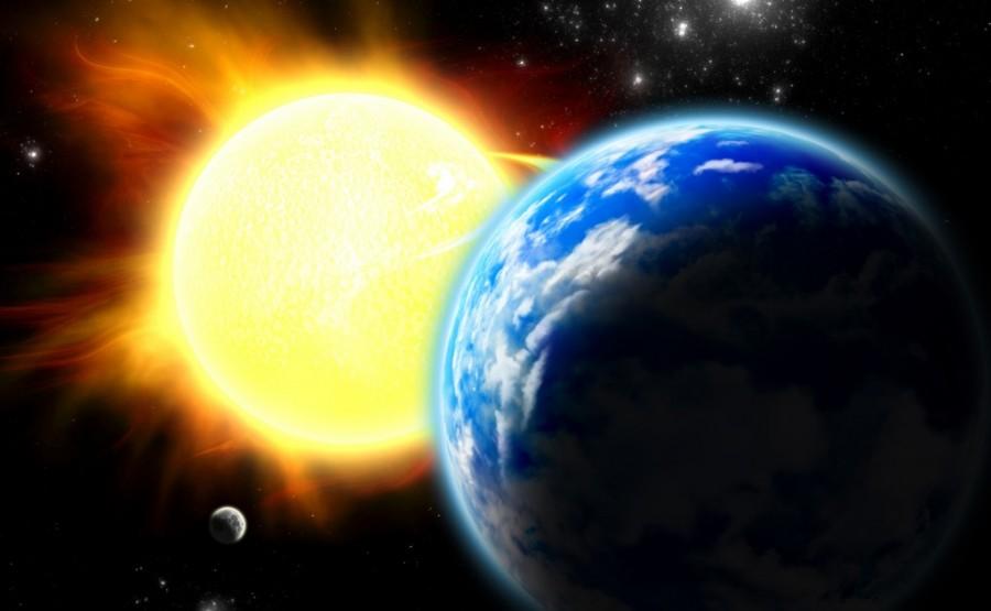 Sun and Earth3 1024x632 900x555 黒点と地震には関連があるのか。不思議な相関関係。