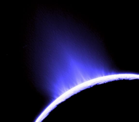 enceladus geysers 準惑星エンケラドスで水の存在が裏付けられる!
