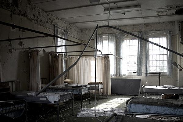 hellingly asylum へリングライ病院、イギリス屈指の心霊スポット。