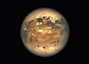 kepler 186f 300x215 地球に似た惑星Kepler 186fが発見される!生命存在の可能性も!