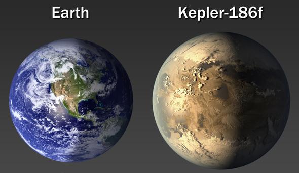 kepler186f earth jpg CROP original original 地球に似た惑星Kepler 186fが発見される!生命存在の可能性も!
