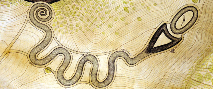 serpentmound 02 サーペント・マウンド、大地に残された模様!