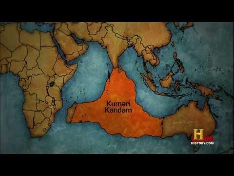 0 レムリア大陸、インド洋の巨大大陸。