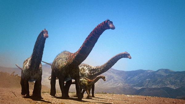 Dinheirosaurus dinosaur revolution 世界最大の恐竜の化石が発見される!正体はティタノサウルス!