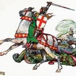 聖ゲオルギオス、ドラゴン退治で有名なキリスト教布教の急先鋒。
