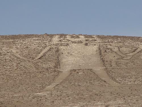 brigitte baeuerle 10 23 0 アタカマの地上絵、斜面に描かれた謎の巨人!