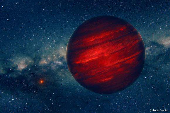 image 1923 2 GU Psc b 公転周期8万年の惑星、GU PSC B!