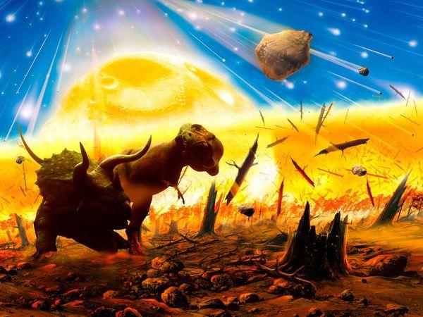 mass extinction 1077 600x450 大量絶滅は酸性雨が大きな要因か。
