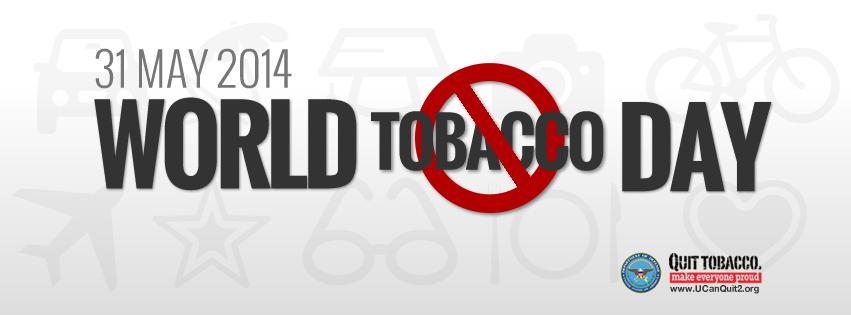 wntd 2014 fb cover original 世界禁煙デー。世界の喫煙人口は約10億人。