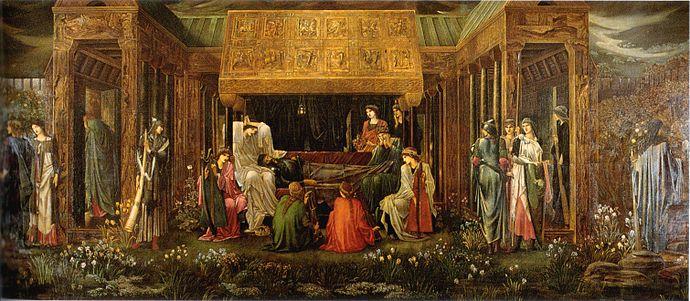Burne Jones Last Sleep of Arthur in Avalon v2 アヴァロン!アーサー王も訪れた伝説の島。