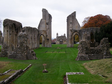 Glastonbury Abbey アヴァロン!アーサー王も訪れた伝説の島。