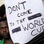 ブラジルでワールドカップ反対の声。広がる格差に対する懸念。