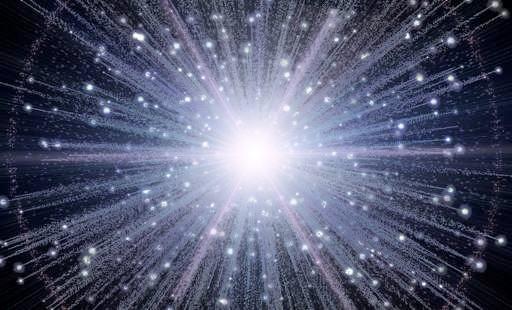 Big Bang space 33448885 512 310 宇宙の始まり、ビッグバンは1兆度の火の玉。