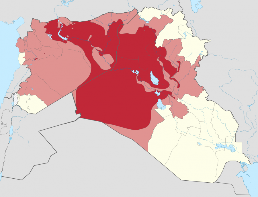 Territorial control of the ISIS svg 900x687 イスラム国誕生。中東の新たな火種!