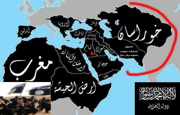 caliphate イスラム国誕生。中東の新たな火種!
