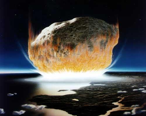 impact 地球近傍天体衝突の可能性は100%。いつかやって来る最期。