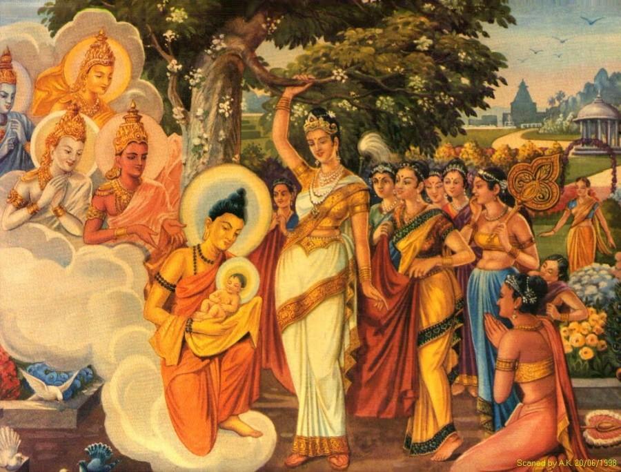 o796s9 900x684 仏教にも天使が存在する?西洋だけではない神の使い。