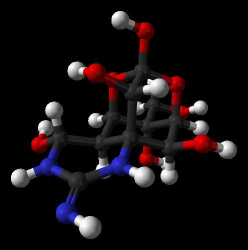 Tetrodotoxin 3D balls 496x500 フグの毒に気を付けろ!しかし一般人には限界が。