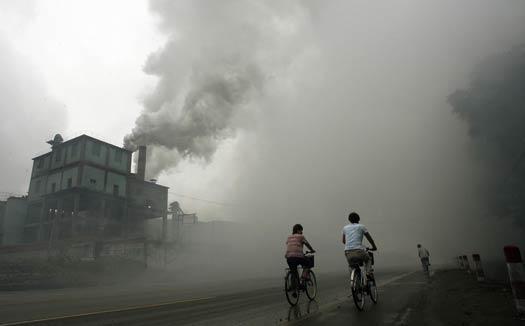 china smog74003740 0 PM2.5とは特定の有害物質ではない。