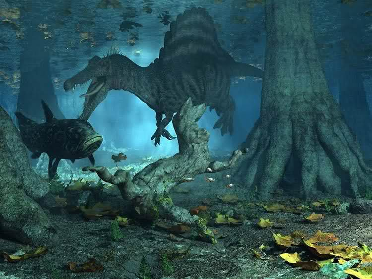 mts11c スピノサウルスは泳いでいたという仮説が登場!