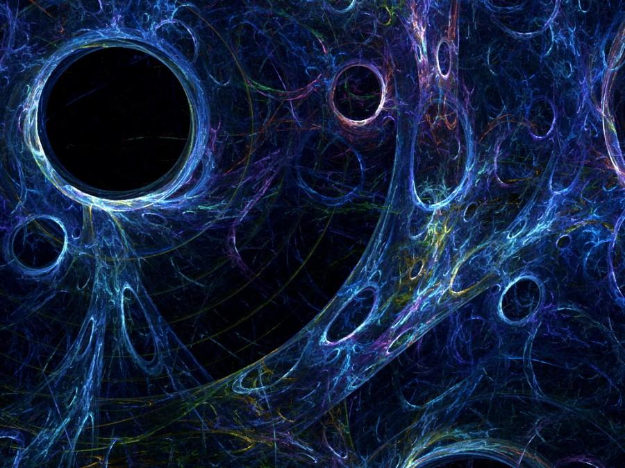 Dark matter stride by tchaikovsky2 900x675 ダークマター、宇宙の4分の1を占める見えないナニカ。