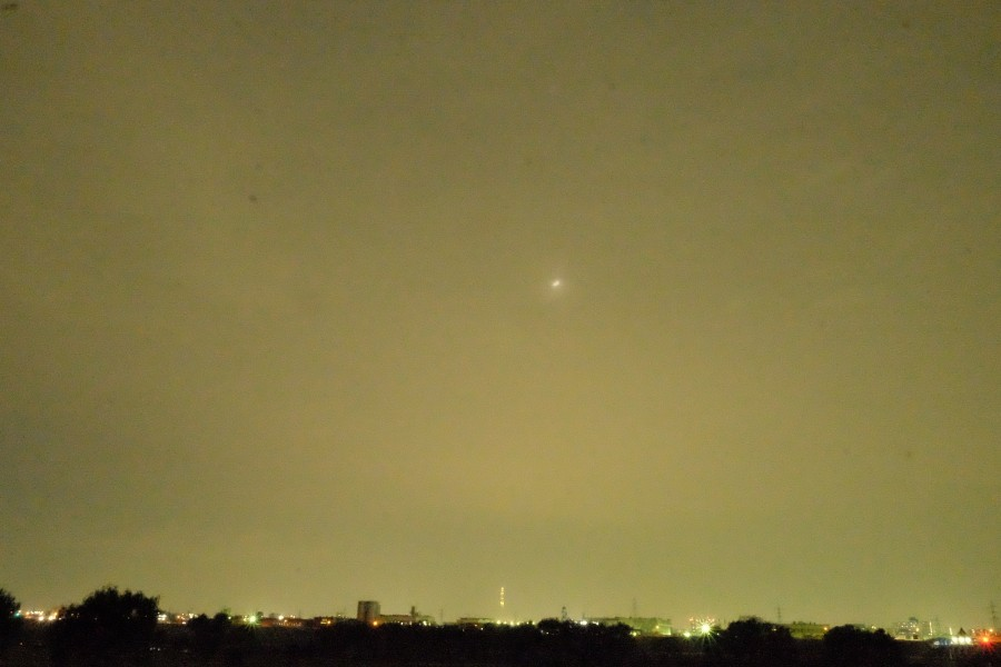 DSCF0172 900x600 171年ぶりの名月、十三夜も全国的に曇りの影響で観測出来ず。
