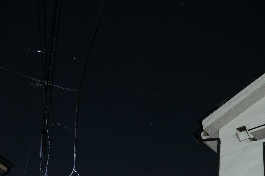 DSCF0214 900x600 東京の星空も捨てたもんじゃない!冬は綺麗な夜空を見よう!