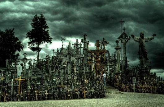 kryziu kalnas 21 十字架の丘。50000を超える十字架がそびえる聖地!