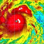 台風発生のメカニズム。空気の渦の源。
