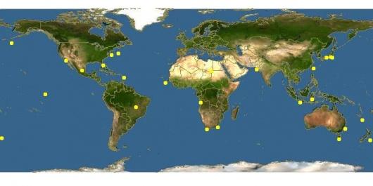 map of Desmodema polystictum 富山湾でユキフリソデウオの幼魚が大量に捕獲される!