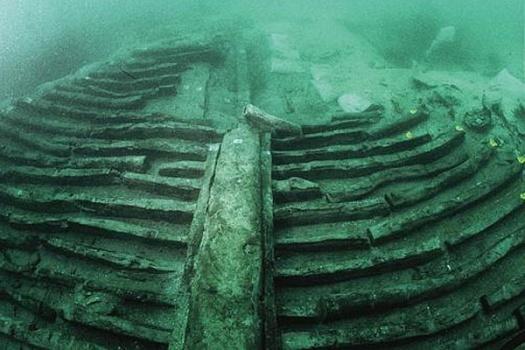 shipwreck オリハルコンが発見される?2600年前の沈没船に?